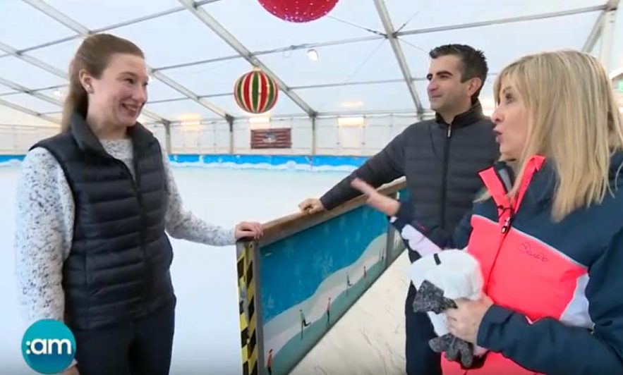 TV3 at Swords on Ice